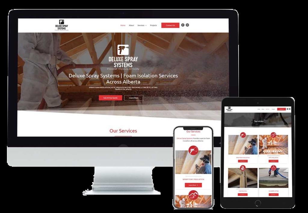 Langley Website Design