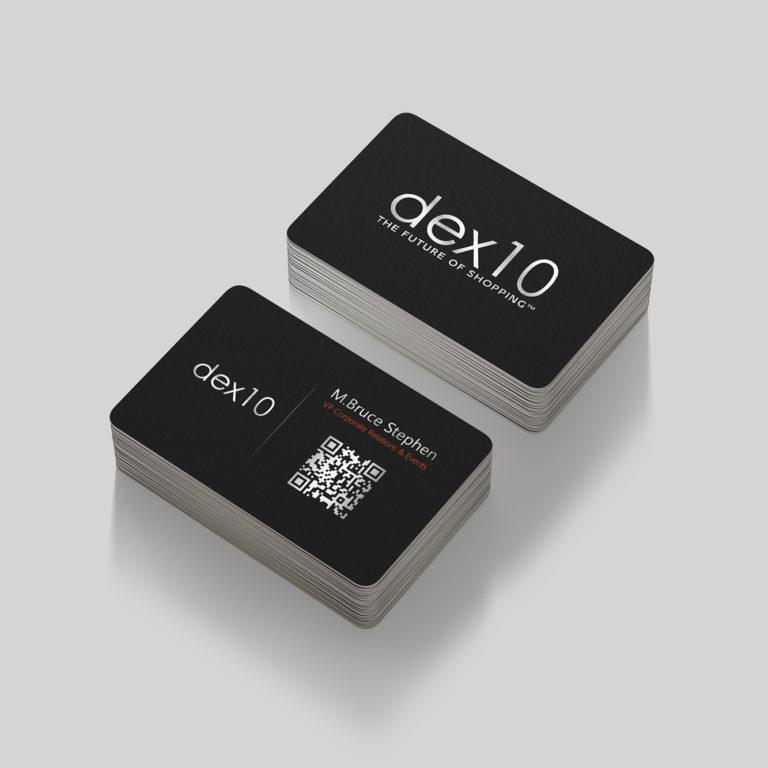 dex10 business card
