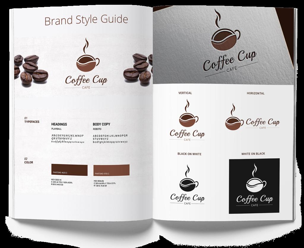 brand identity coffee
