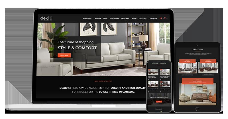 canadian web design ecommerce store