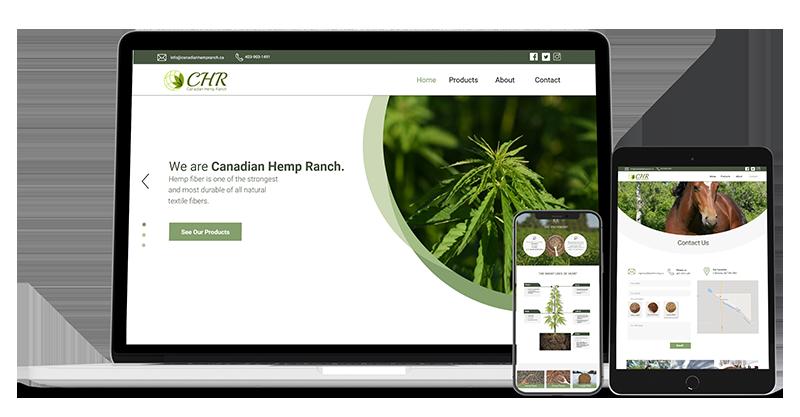 canadian web design hemp