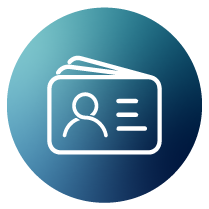 business card icon