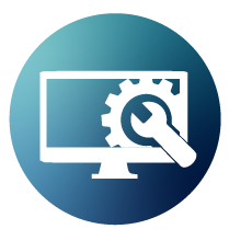 hosting and maintenance icon